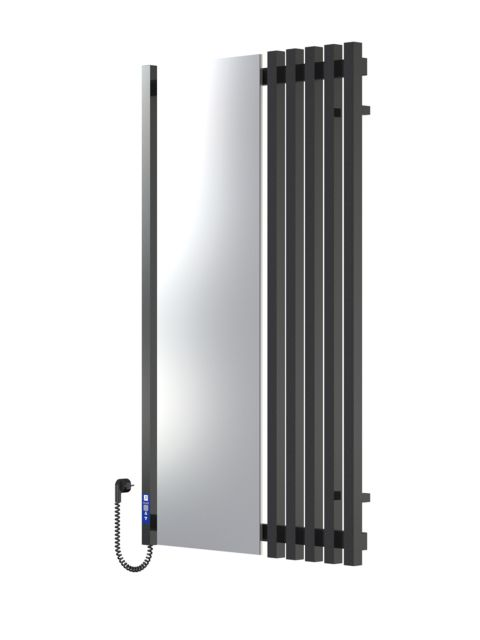 MARCIALE 1200х700х6 черный (глянец)-RAL-9005 программатор L