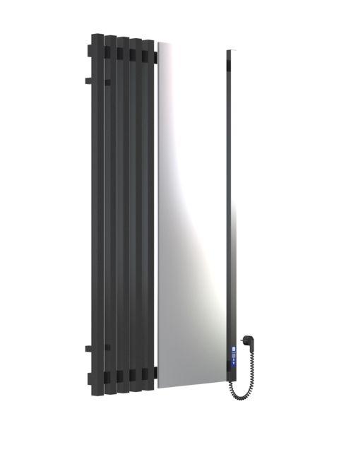 MARCIALE 1200х700х6 чорний (глянец)-RAL-9005 програматор R