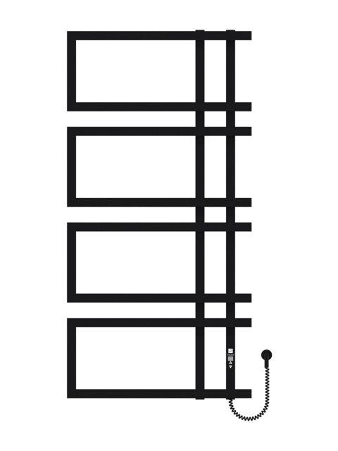 Enza 1200х600х4 черный (структура,мат)-RAL-9005 программатор R
