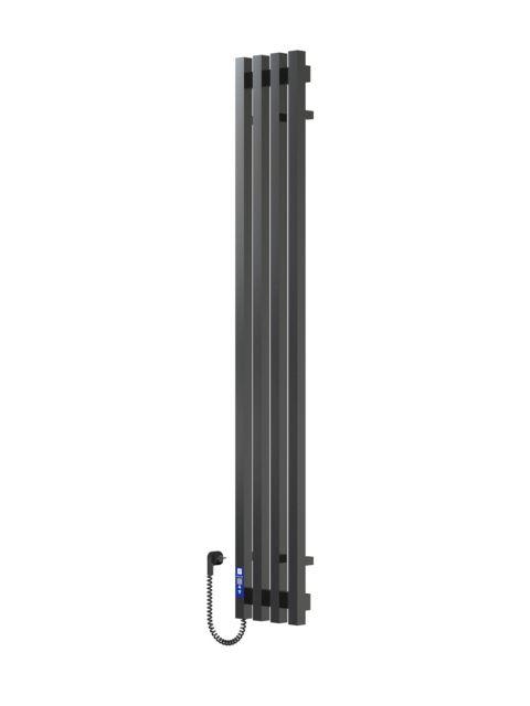 VIVO 1400Х210Х4 черный (глянец)-RAL-9005 программатор L