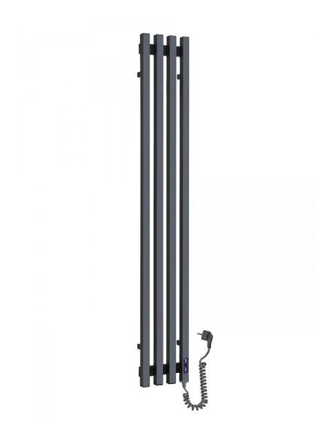 Дизайн-радіатор Vivo 1400*210/4 чорний