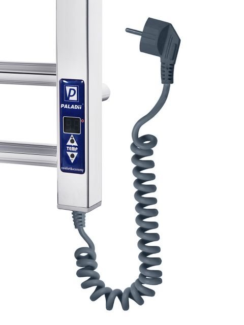 Электрический полотенцесушитель Эстет Электро 1000х500/12L (с электронным программатором)