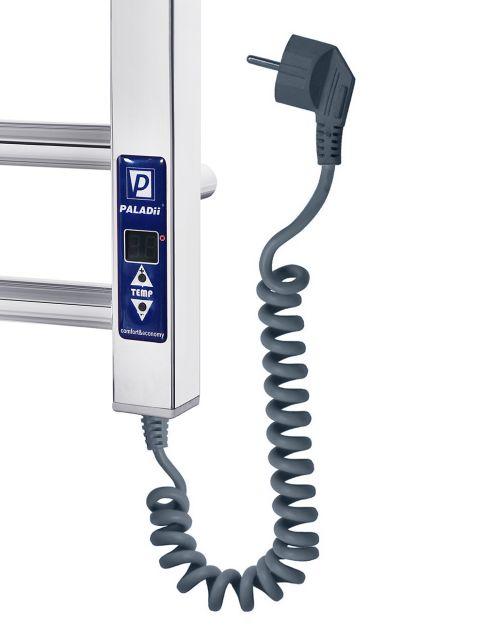 Електрична рушникосушарка Грація з полицею Електро 900*500/10R ( з електронним програматором)