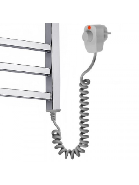 Електрична рушникосушка Талія з полицею Електро 1200*600/15R
