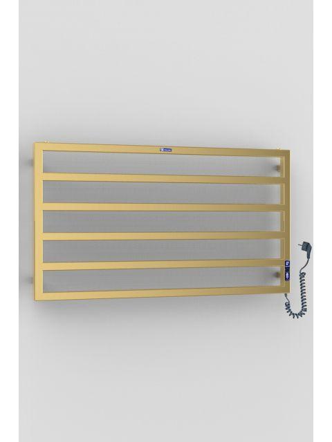 Электрический полотенцесушитель FORTE 500х1000/5 Электро (золото)